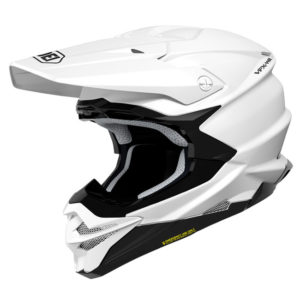 SHOEI VFX-WR HELMET SOLID WHITE