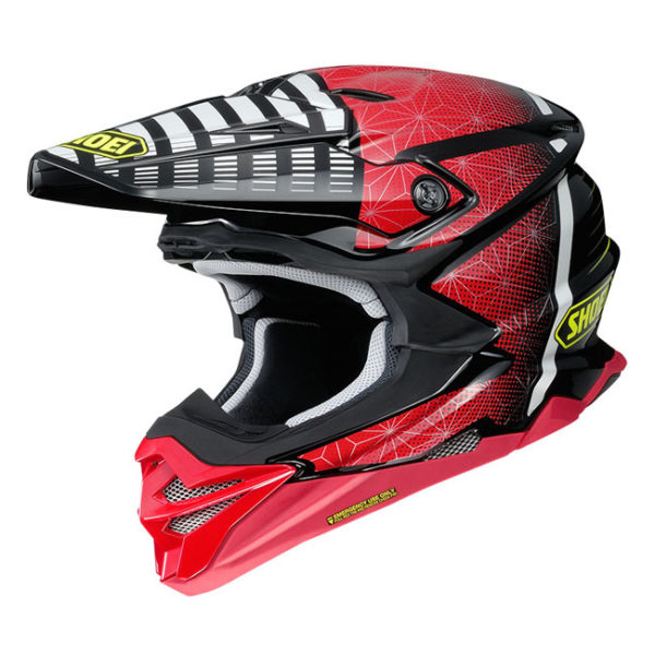 SHOEI VFX-WR HELMET BLAZON TC-1