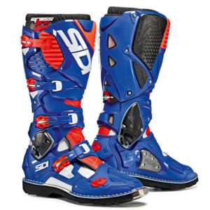 SIDI CROSSFIRE 3 WHITE BLUE RED FLURO