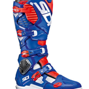 SIDI CROSSFIRE 3 SRS WHITE BLUE RED FLURO