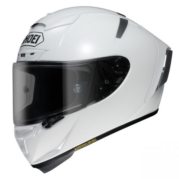 SHOEI X-SPIRIT III HELMET SOLID WHITE