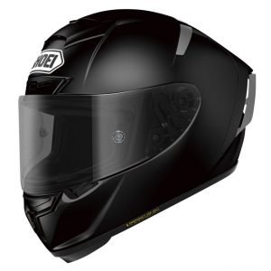 SHOEI X-SPIRIT III HELMET SOLID BLACK