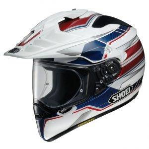 SHOEI HORNET ADV HELMET NAVIGATE TC-2 BLUE RED