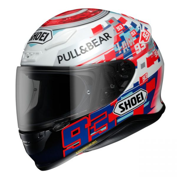 SHOEI NXR HELMET MARQUEZ POWER UP! TC-1
