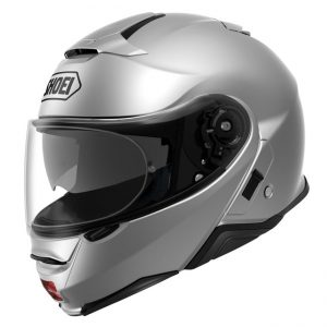 SHOEI NEOTEC II LIGHT SILVER