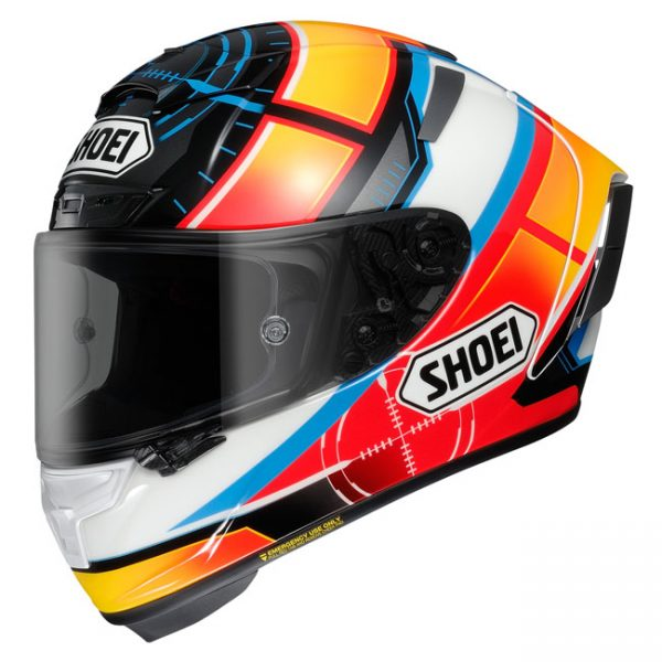 SHOEI X-SPIRIT III HELMET DE ANGELIS TC-1