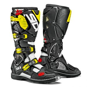 SIDI CROSSFIRE 3 WHITE BLACK YELLOW FLURO