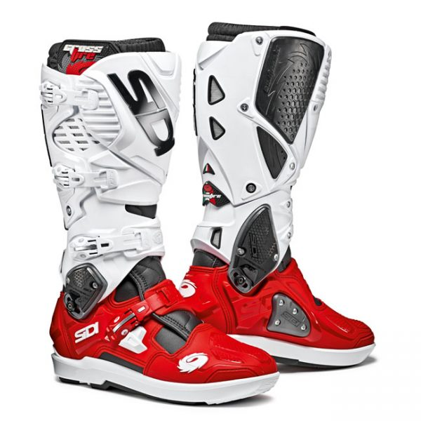SIDI CROSSFIRE 3 SRS BLACK RED WHITE