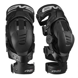 EVS BRACES AXIS SPORT PAIR BLACK