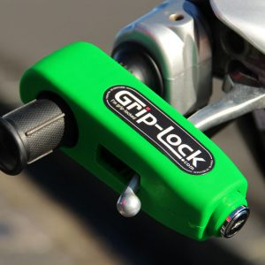GRIP LOCK HANDLEBAR LOCK GREEN