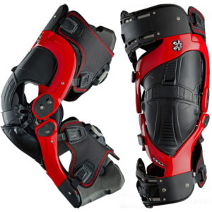 ASTERISK ULTRA CELL BOA  KNEE BRACE PAIR RED