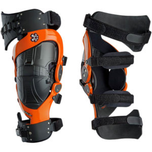 ASTERISK CELL KNEE BRACE PAIR ORANGE