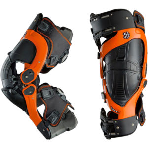 ASTERISK ULTRA CELL BOA ORANGE KNEE BRACE PAIR