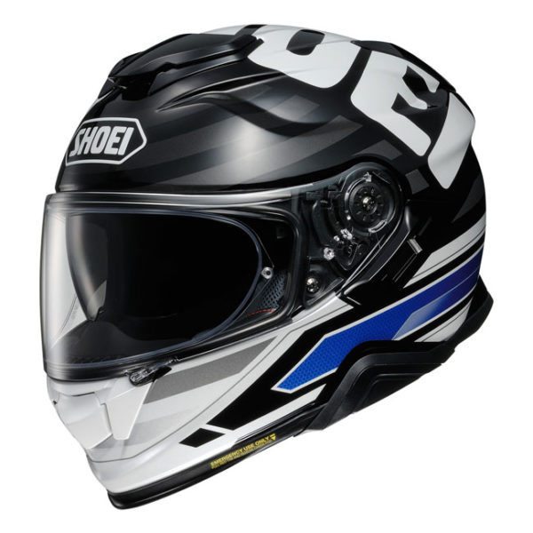 SHOEI GT-AIR II HELMET INSIGNIA TC-2 BLUE