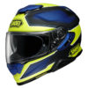 SHOEI GT-AIR II HELMET BONAFIDE TC-3 MATT HI-VIS
