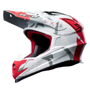 M2R X4.5 HELMET DIVISION PC-1F MATT RED