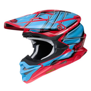 SHOEI VFX-WR HELMET GLAIVE TC-1 RED