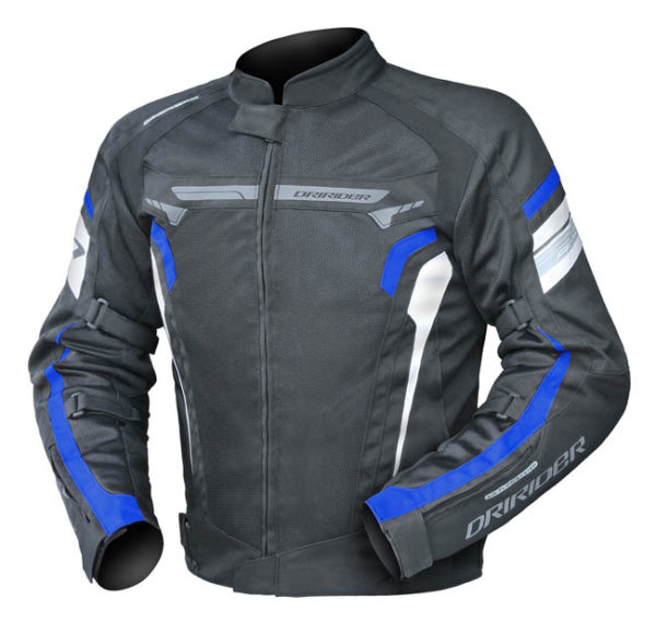 Dririder Air Ride 4 Motorcycle Riding Jacket Front Left View