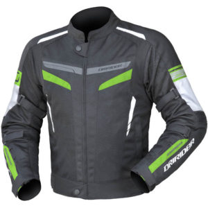 DRIRIDER AIR-RIDE 5 JACKET BLACK GREEN