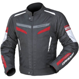 DRIRIDER AIR-RIDE 5 JACKET BLACK RED