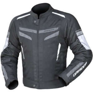 DRIRIDER AIR-RIDE 5 JACKET BLACK WHITE GREY