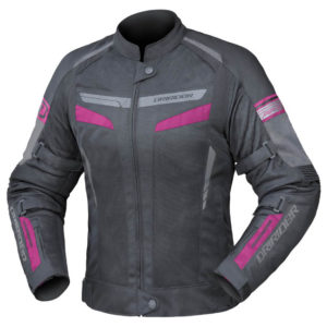 DRIRIDER AIR-RIDE 5 LADIES JACKET BLACK PINK