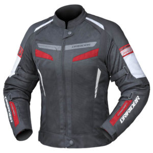 DRIRIDER AIR-RIDE 5 LADIES JACKET BLACK RED