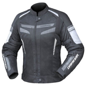 AIR-RIDE 5 LADIES JACKET BLACK WHITE GREY