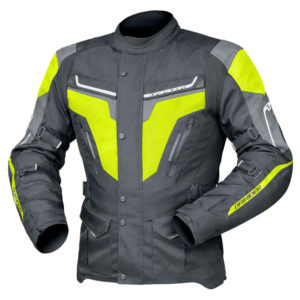DRIRIDER APEX 5 JACKET BLACK YELLOW