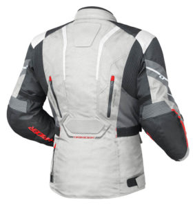DRIRIDER APEX 5 JACKET GREY WHITE BLACK
