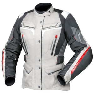 All SEASON SPORTS / TOURING JACKET Suitable for long tours and commuting, and incredibly versatile thanks to the removable weatherproof linings and ventilation system. The Number 1 Australian Motorcycle Clothing Brand. Tried and trusted by Aussie riders for 33 years. Designed in Australia, by Australians and built for our harshest conditions. All of our garments are tested across the land; from the High country to the Outback, from Mt Mee to Mt Terrible, from the Putty road to the GO road. From Wannaroo to Whittlesea, from Strath to Victor and all roads in between! Our focus is 100% on Motorcycle clothing to deliver the highest quality products available at affordable prices. We use High Quality components sourced from famous brand name partners including the best Zippers, the best High-Spec Breathable and Waterproof Liners &the best Construction Materials. We do not cut corners or compromise on the strength or feel of our fabrics. For 40 years DRIRIDER has helped protect Australian riders with high quality apparel & accessories, thermals, boots, gloves, luggage and helmets!. Designed specifically for Australian riders, our weather conditions & made for a true Australian fit. Buy now for free shipping on orders over $99 and 5% off RRP on a range of items storewide at Bush2Bitumen. Browse more: DriRider. Men's Boots. Women's Boots. Youth Boots. Men's Jackets. Women's Jackets. Youth Jackets. Men's Pants. Women's Pants. Youth Pants. Men's Gloves. Women's Gloves. Youth Gloves. Men's Boots. Women's Boots. Youth Boots. Men's motorcycle helmets. Women's motorcycle helmets. Youth and kid's motorcycle helmets. Motorcycle phone communications. Batteries & Battery Chargers. Gearbags & Backpacks. Motorcycle Covers. Airbag Systems. Storage Bags. Bike Locks. Tank Pads. Seat Pads. Bush2Bitumen Home Page.
