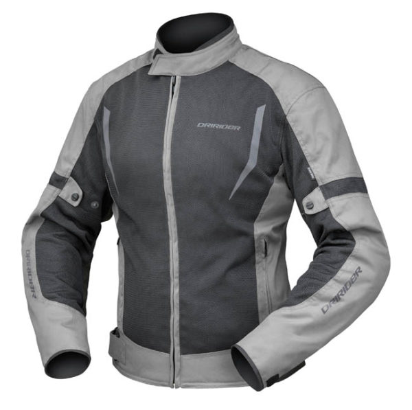 DRIRIDER BREEZE LADIES JACKET BLACK GREY