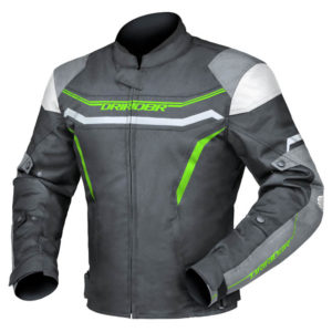 DRIRIDER GRID JACKET BLACK GREEN