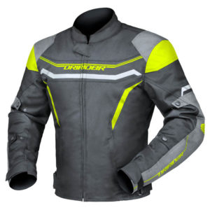 DRIRIDER GRID JACKET BLACK YELLOW HI-VIS