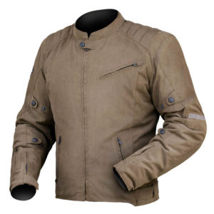 DRIRIDER SCRAMBLER JACKET BROWN