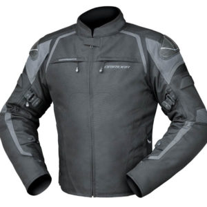 DRIRIDER SPRINT JACKET BLACK GREY