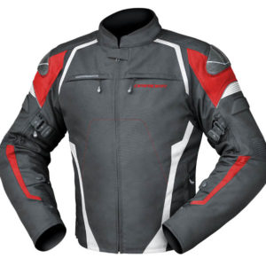 DRIRIDER SPRINT JACKET BLACK WHITE RED