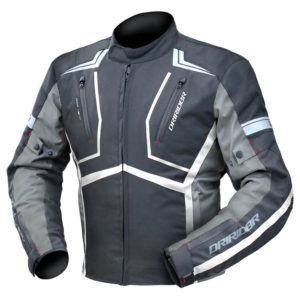 DRIRIDER STRADA JACKET BLACK WHITE ANTHRACITE