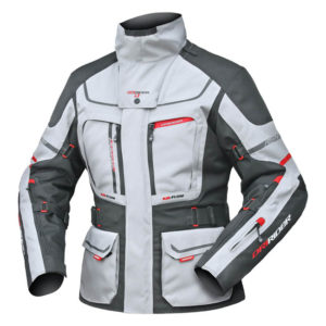 DRIRIDER VORTEX ADVENTURE 2 LADIES JACKET GREY BLACK