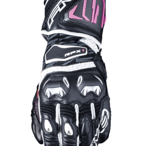 FIVE RACING RFX1 WOMENS RACE GLOVES BLACK PINK