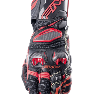 FIVE RACING RFX RACE GLOVES BLACK RED