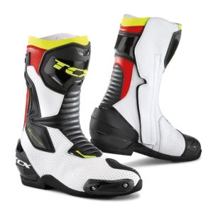 TCX SP-MASTER AIR BOOTS WHITE BLACK RED