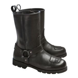 MERLINMEN'S HERITAGE CHARGER BOOTS BLACK