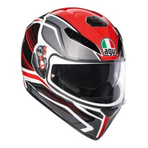 AGV K3 SV PROTON HELMET BLACK RED