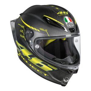 AGV PISTA GP R PROJECT 46 2.0 MATT CARBON RACING HELMET