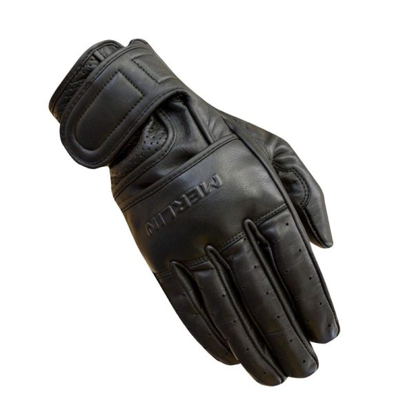 MERLIN MEN'S HERITAGE BICKFORD GLOVES BLACK