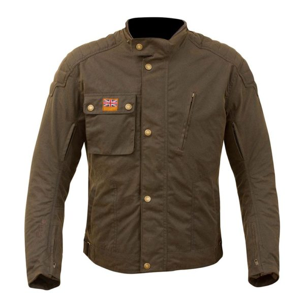 MERLIN MEN'S HERITAGE SANDON JACKET BROWN