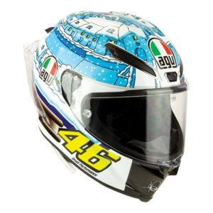 AGV PISTA GP R ROSSI WINTER TEST 2017 RACING HELMET