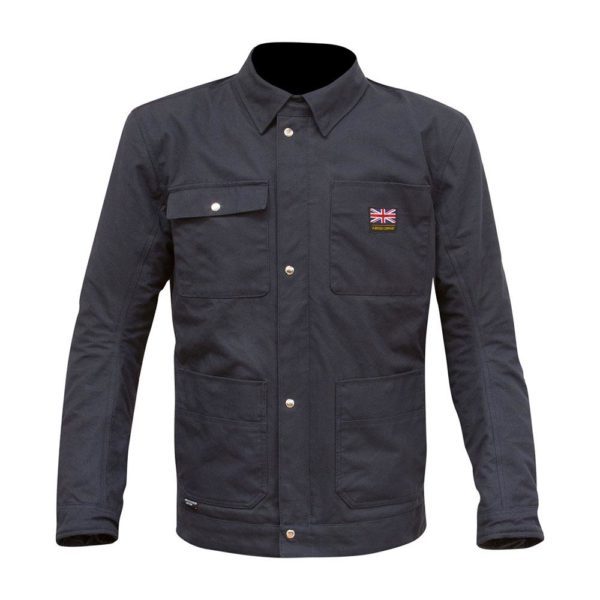 MERLIN MEN'S LEISURE MOTO VICTORY JACKET NAVY