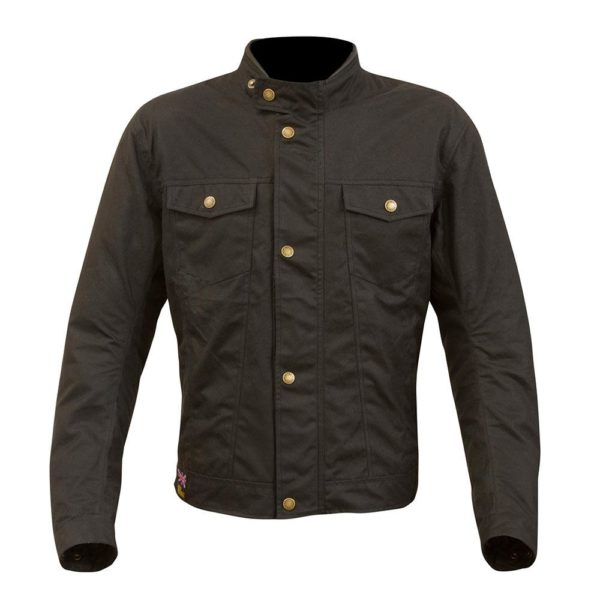 MERLIN MEN'S HERITAGE ANSON JACKET BLACK